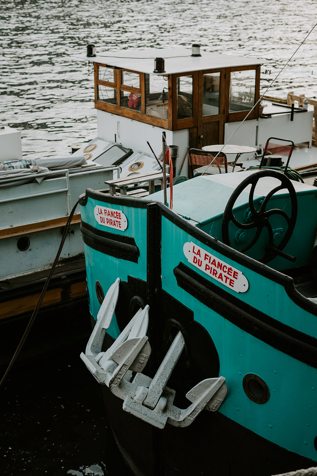 Barca sulla Senna