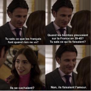 Emily in paris l'amour en France